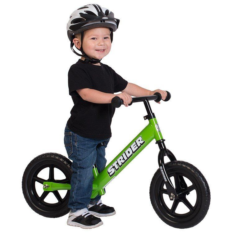 Strider 12 Sport Balance Bike, White Balance bike, Bike