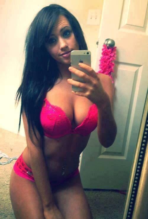 Hot selfie of real women