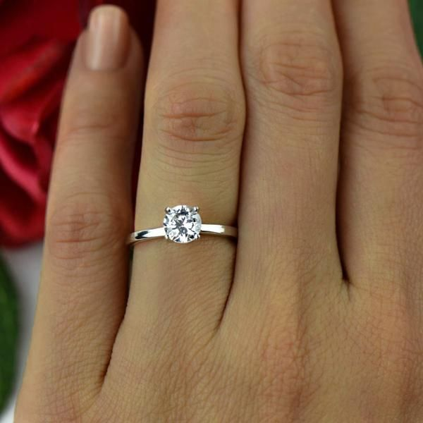 1 ct Solitaire Ring  a71e8d9b4