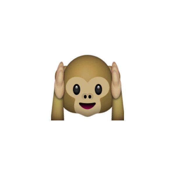 Hear No Evil Monkey Monkey Emoji Cute Monkey Emoji