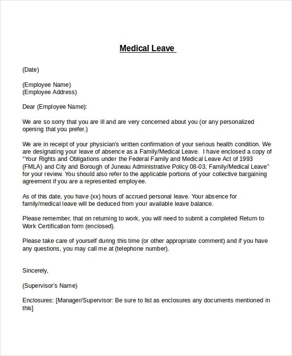 24+ Leave Letter Formats Resignation letter format