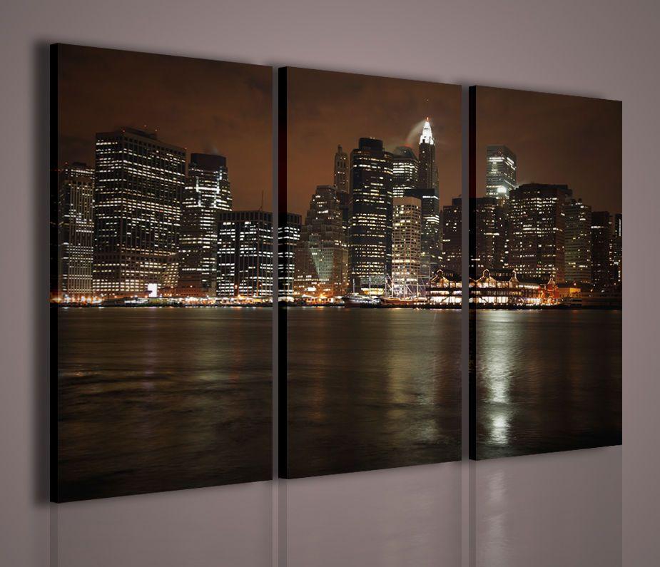 Quadro moderno manhattan quadri moderni su tela x arredamento