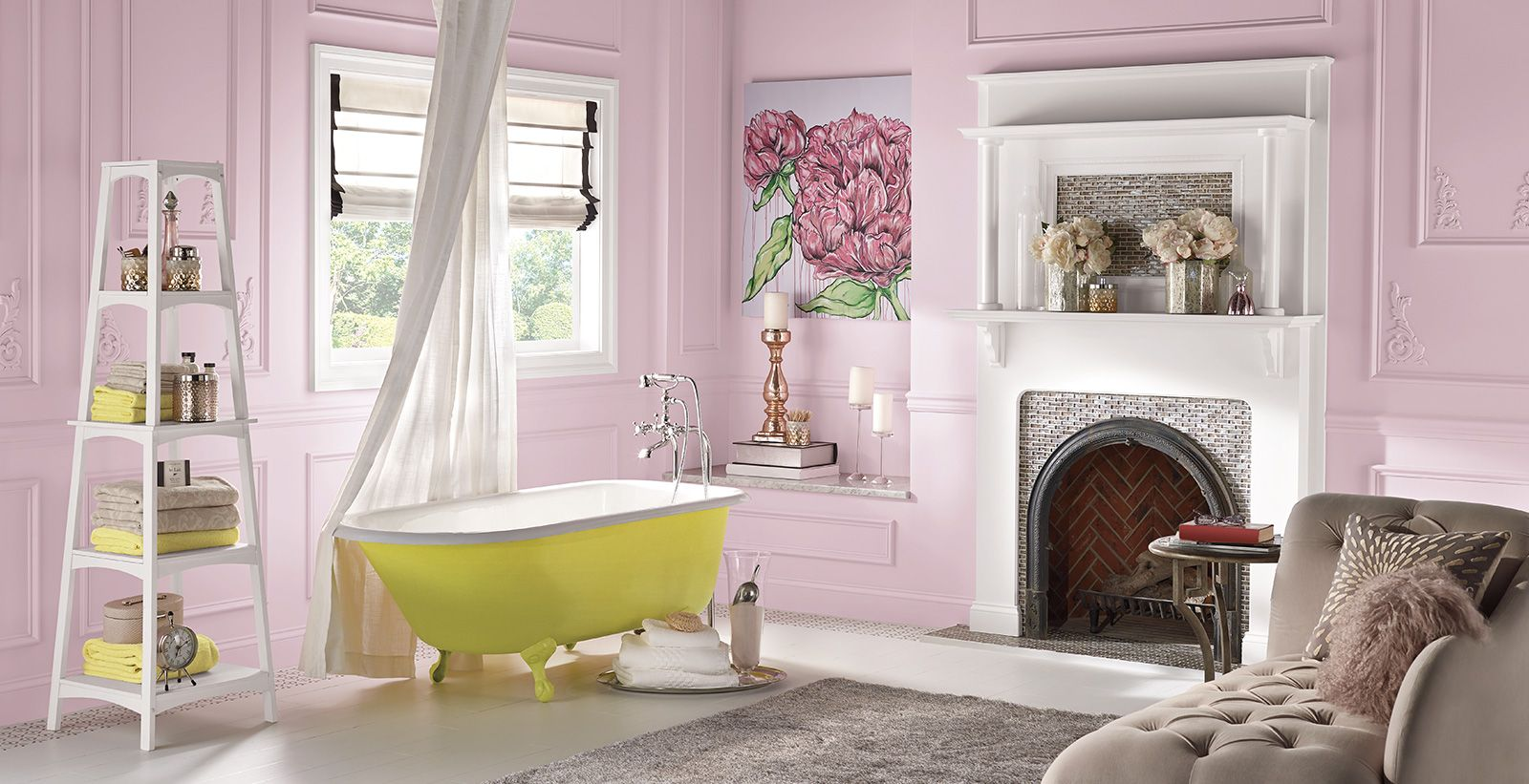 red bathroom ideas and inspirational paint colors behr on behr premium paint colors id=40074
