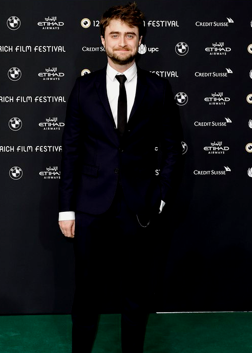 Daniel Radcliffe attends the 'Imperium' premiere during the 12th Zurich Film Festival on September 30, 2016 in Zurich, Switzerland.