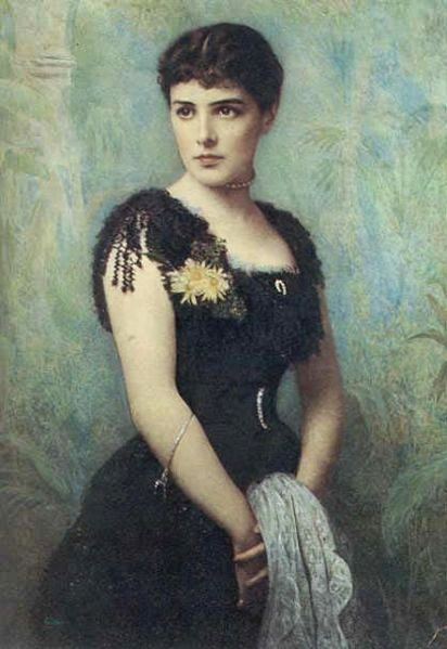 Portrait Of Jeanette Jennie Jerome Or Lady Randolph