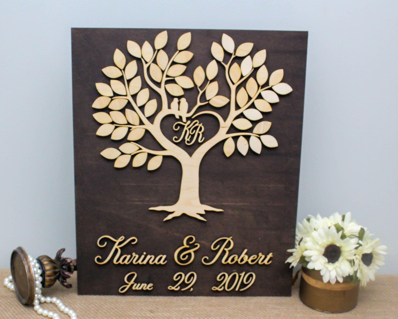 Wedding Tree Guest Book Wedding Guestbook Alternative Wedding Date Wood Sign Rustic Wedding Tree Sign 3d Wedding Guest Book Ideas Wedding Tree Guest Book Guest Book Tree Tree Wedding