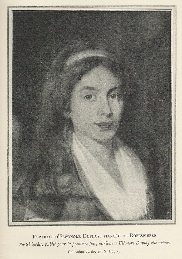 Eleonore Duplay, amie de Maximilien Robespierre