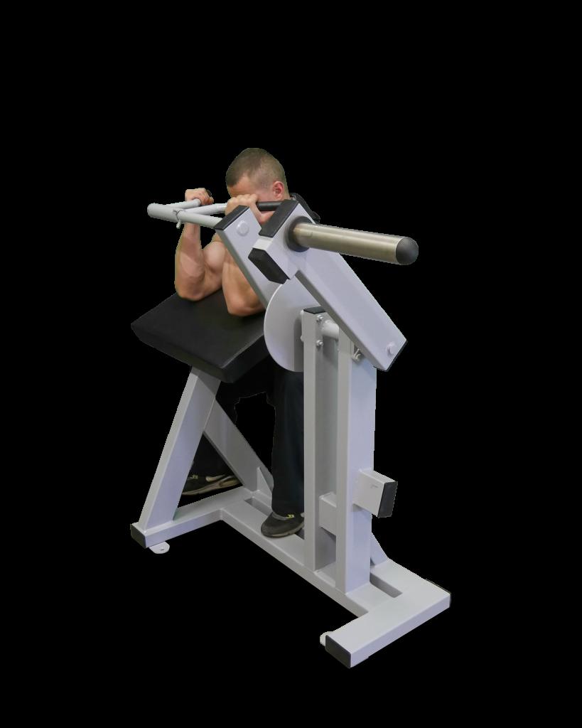 F3 Biceps Curl Machine Plate Loaded Equipamentos de