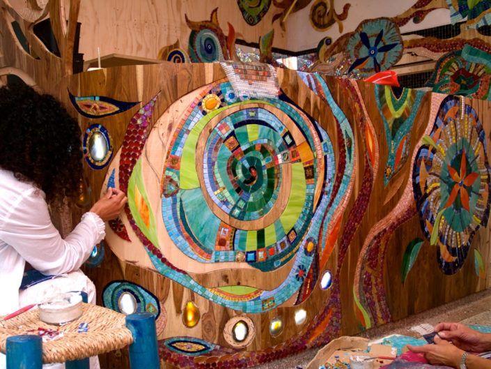 Coffeeshop Abraxas Mozaiek Siomara Van Eer Mosaicaffairs Mosaic