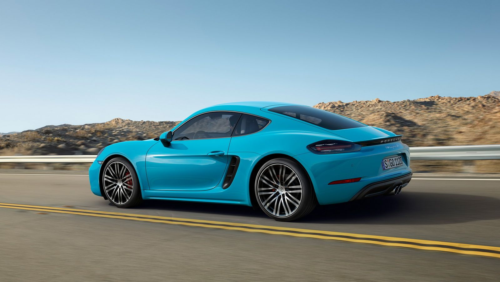 Porsche have started producing the 718 cayman at the zuffenhausen plant in