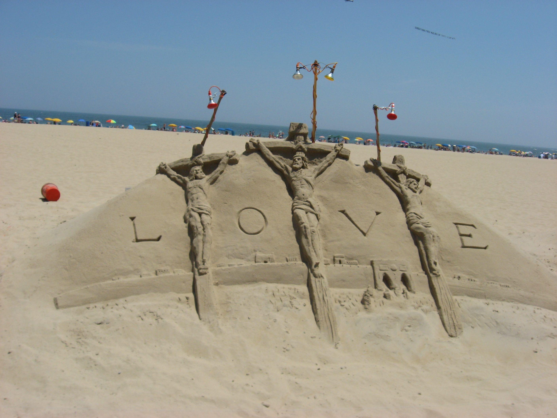 Ocean City Maryland Sand Sculptures Ocean City Ocean