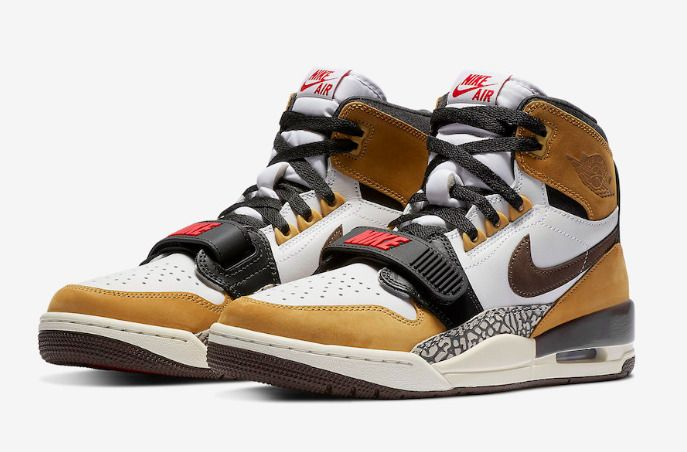 factory authentic 7b718 18cf8 New Men Air Jordan Legacy 312 Shoes (AV3922-102) White Baroque  Brown-Wheat-Red  Jordan  BasketballShoes