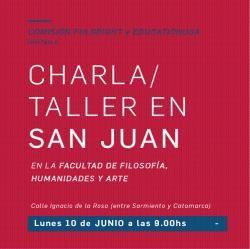 Charla/ Taller destinada a informar sobre los distintos programas de becas que ofrece Fulbright #UNSJ #SanJuan