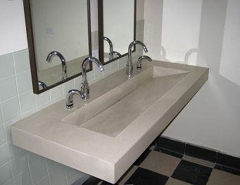 60 Quot Ada Floating Concrete Ramp Sink Handicapped