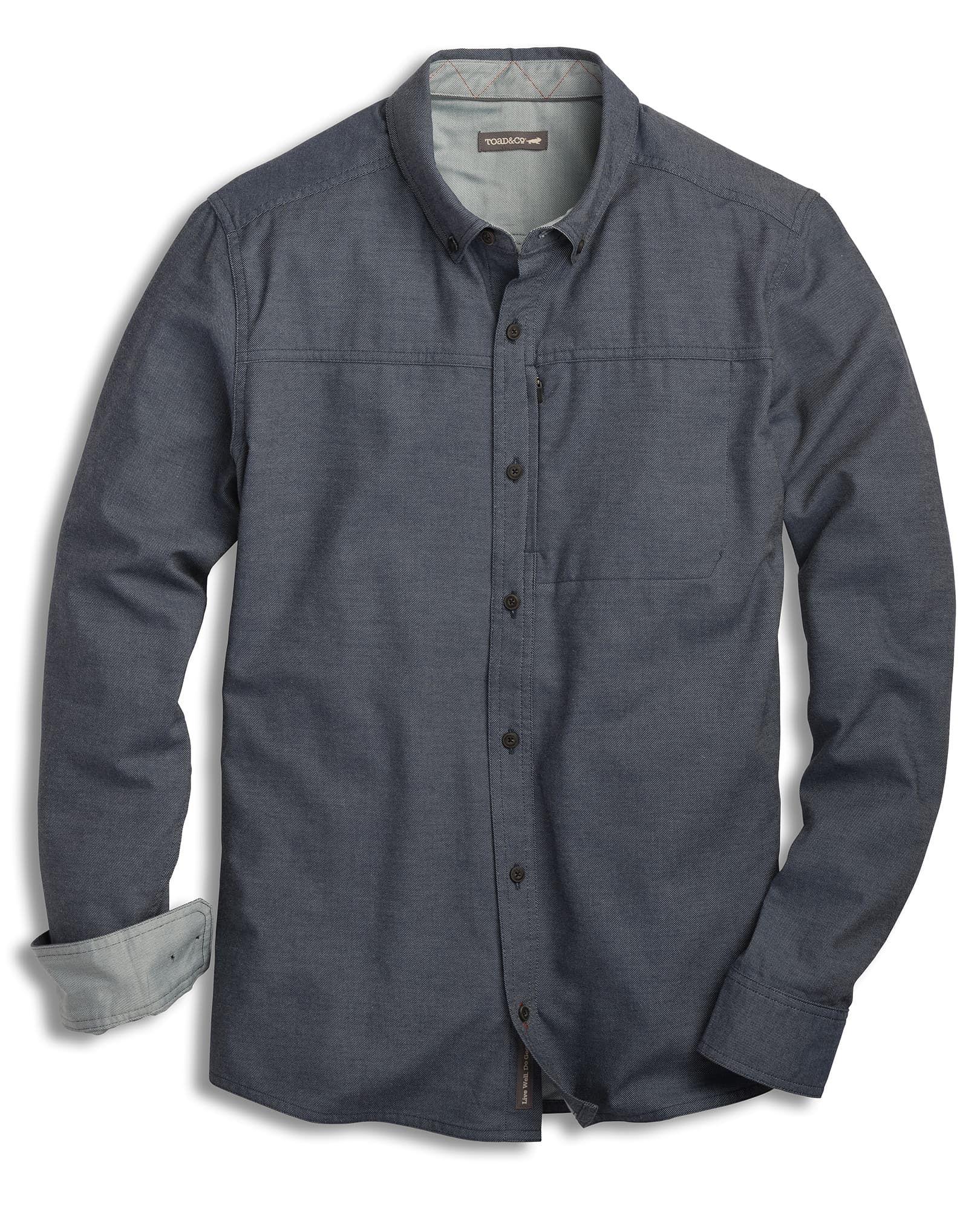 G-STAR RAW Stalt Button Down Pocket Straight Camicia in Jeans Uomo