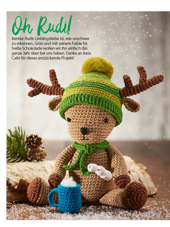 Simply Häkeln Weihnachts Special 012017 Vánoční Háčkováni