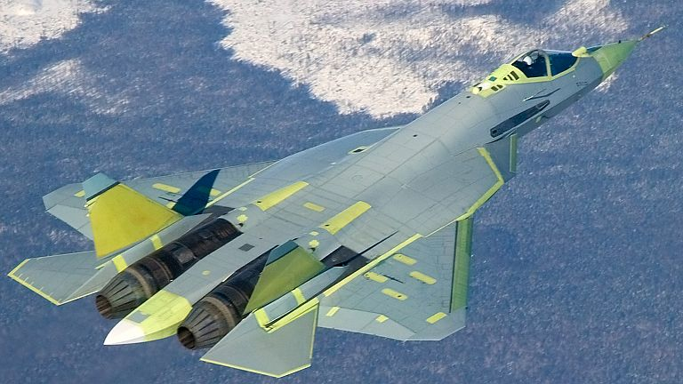 Russia S Stealth Fighter Could Match U S Jets Analyst Says Fighter Jets Aircraft Sukhoi