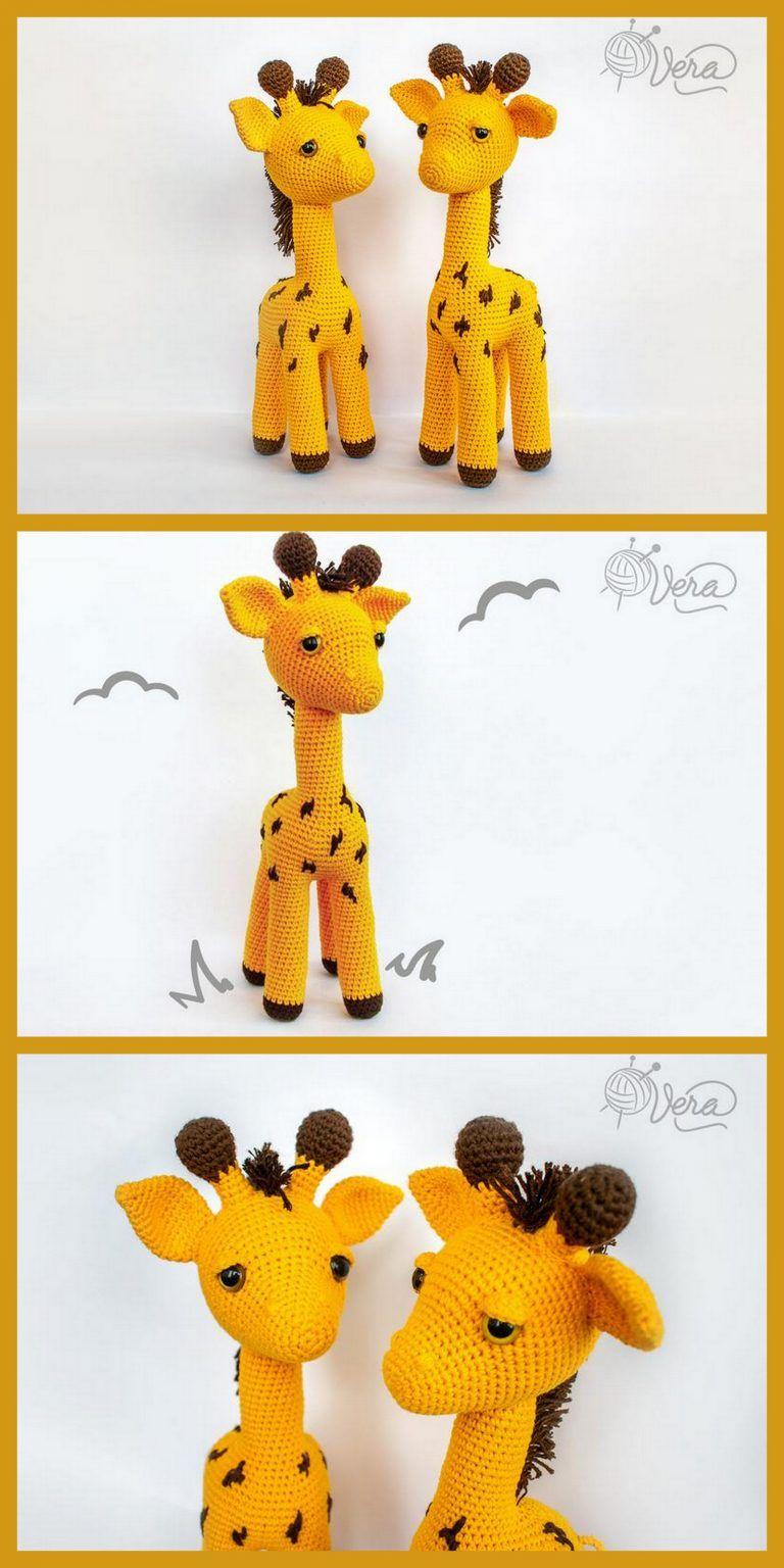 Amigurumi Giraffe Free Pattern | 1536x768