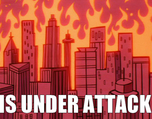 The city of Townsville..