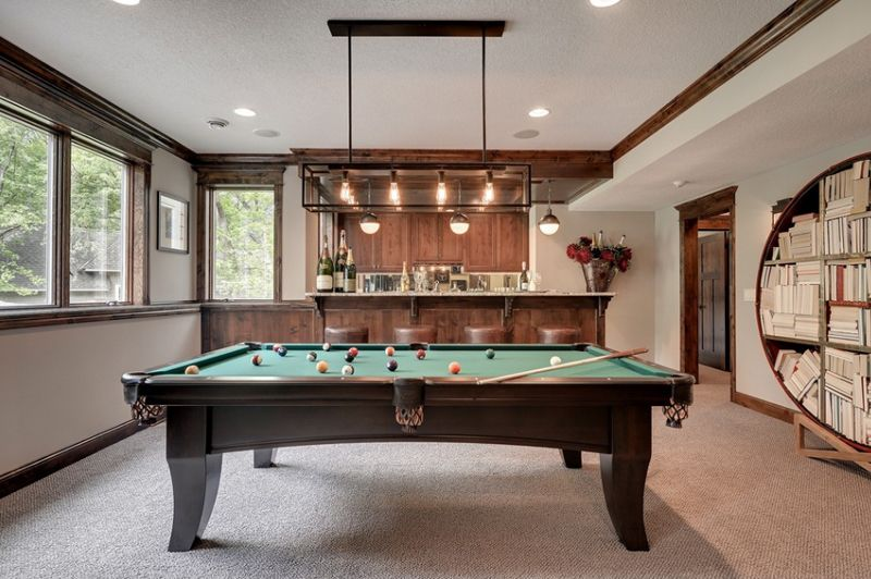 20 Awesome Pool Table Lighting Bat Ideas