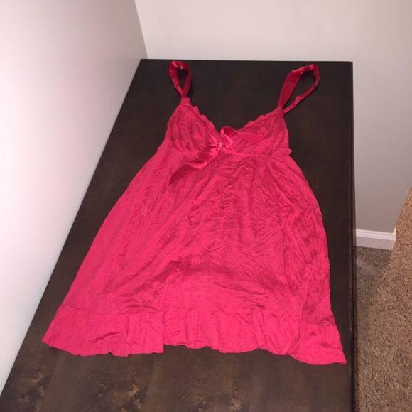 Red Victoria's Secret Full Length Babydoll Size M Never worn, honestly. Smoke free home! Victoria's Secret Intimates & Sleepwear Pajamas