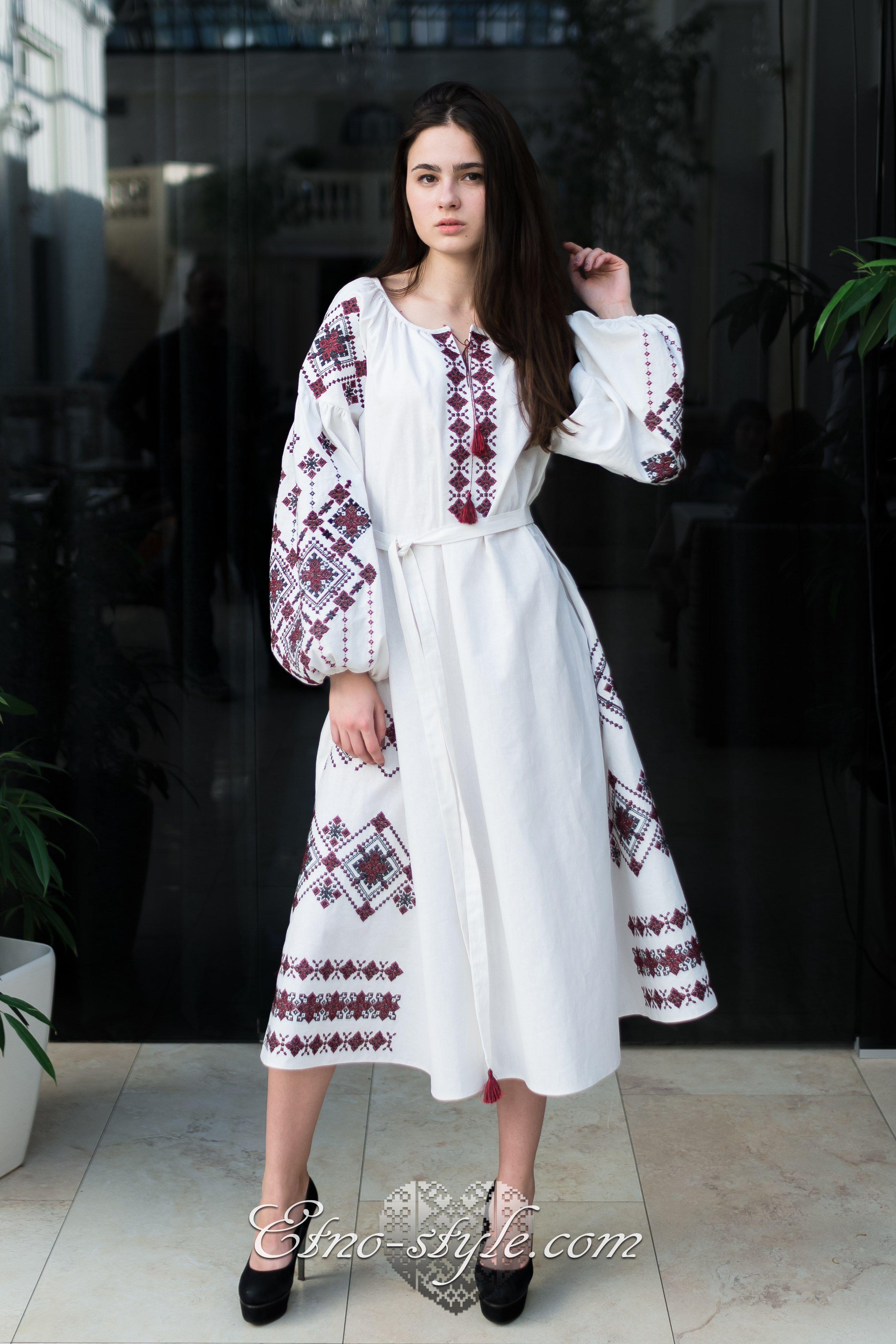 Жіноче вишите плаття Lullaby etno-style  10449b4bce076