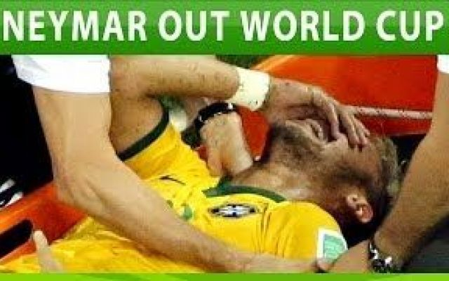 Video Neymar injury Out of World Cup 2014! #neymar #injury #out #world #cup #2014 #brazil