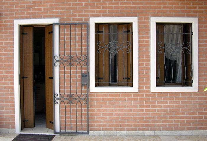 Grate di sicurezza per porte e finestre porta finestre pinterest - Sistemi di sicurezza per porte e finestre ...