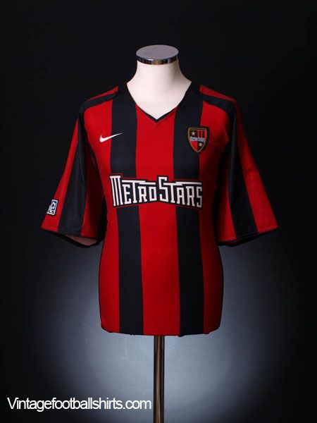 sale retailer dfb8a 4828c 2005-06 Metrostars Home Shirt XXL | MLS - Red Bull New York ...