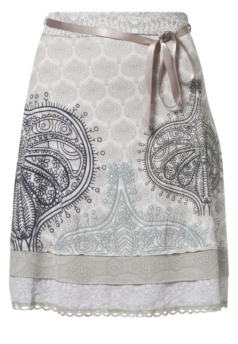 c7b150454 LONELY GIRL - Falda acampanada - gris plata en 2019 | Outfit ...