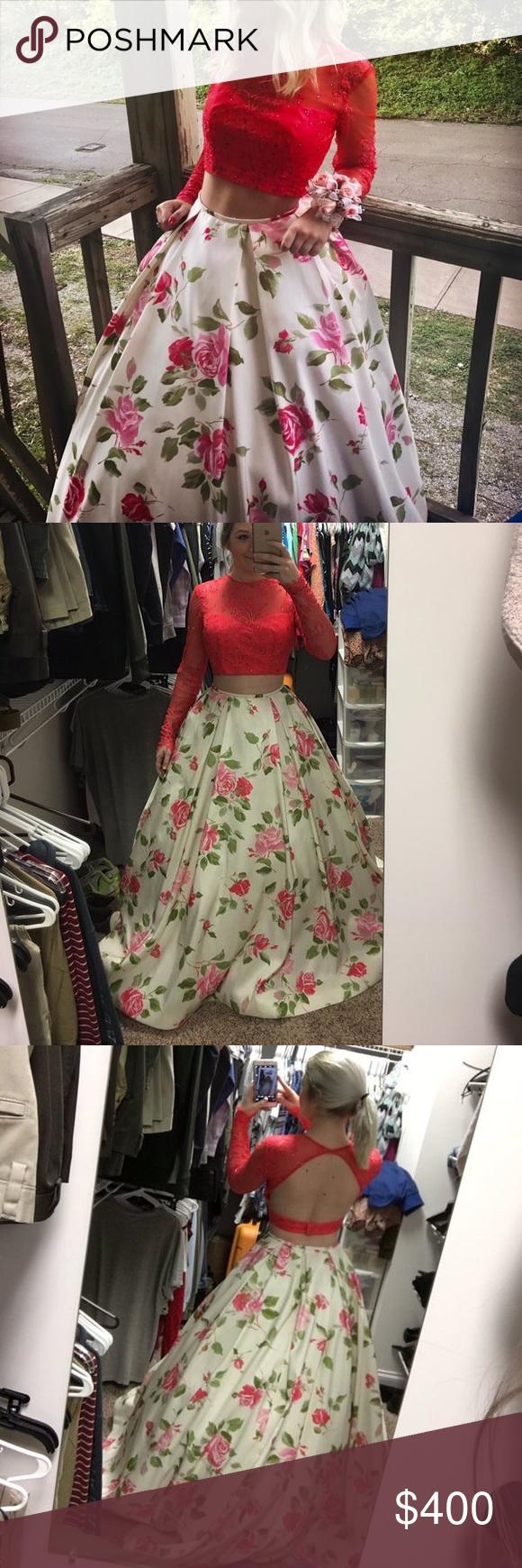 Sherri hill piece prom dress prom dress prom and bb
