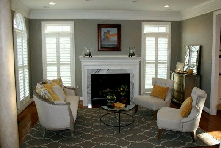 Rockport Gray Sitting Room