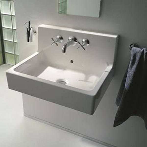 Description Vero Wall Mount Sink 23 5 8 X 18 1 2 Inch Duravit Models Include Designer Sinks Under Hung