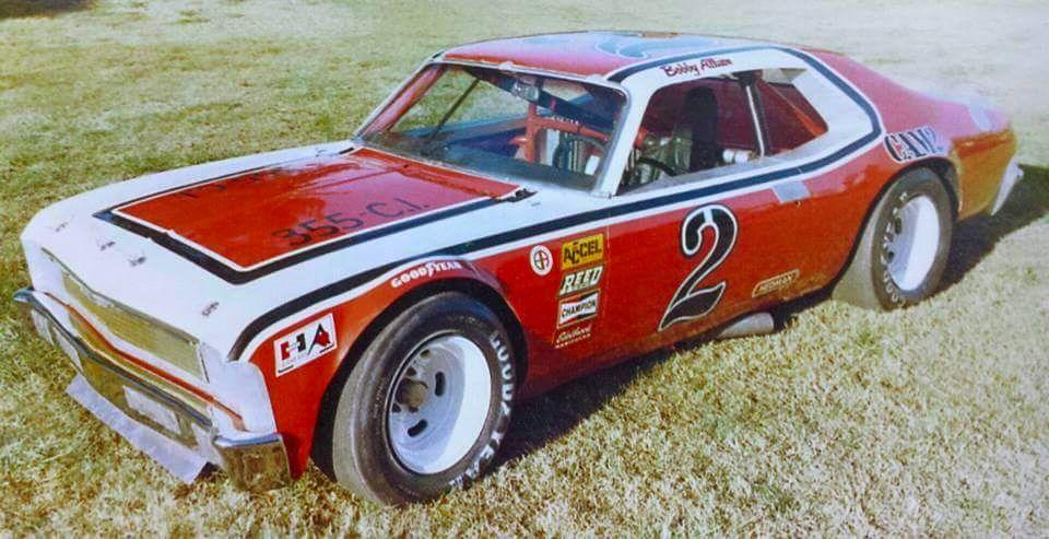 bobby allison late model nova 1976 piston cup old race cars dirt racing vintage race car. Black Bedroom Furniture Sets. Home Design Ideas