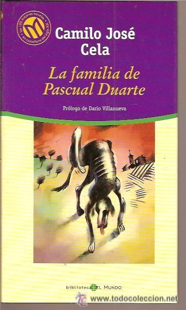 La Familia De Pascual Duarte De Camilo José Cela Classic Books Books Book Cover