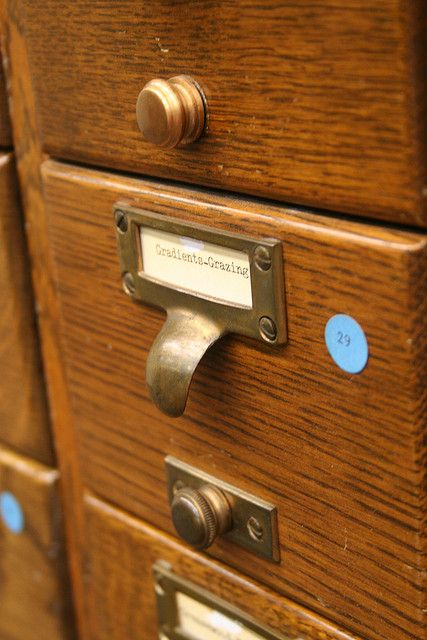 Card Catalog Drawer Pull Where Can I Get A Couple Dozen Of These