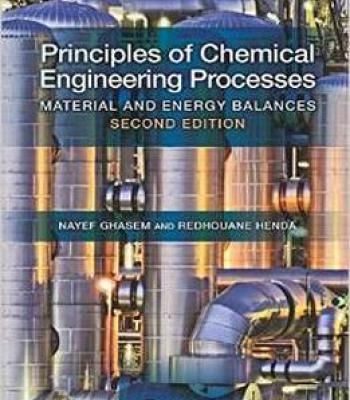 Principles Of Chemical Engineering Processes PDF | Chemistry