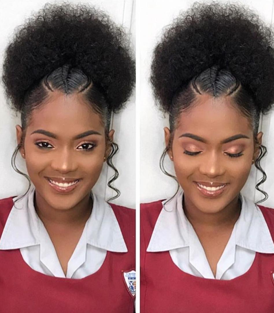 les femmes noires aux cheveux naturels Coiffure en 2019
