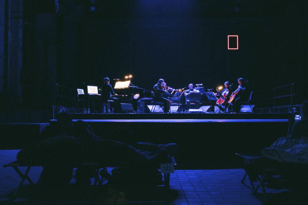 Composer Max Richter on his all night performances in Kraftwerk Berlin - uncube