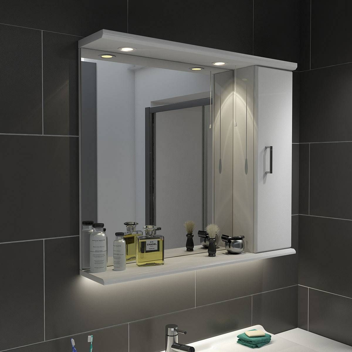 Bathroom Mirror And Light Combinations sienna+white+85+mirror+with+lights | mirror ideas | pinterest