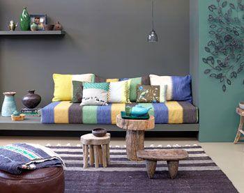 etnisch interieur | vtwonen | mooie kleuren - Interieur | Pinterest ...