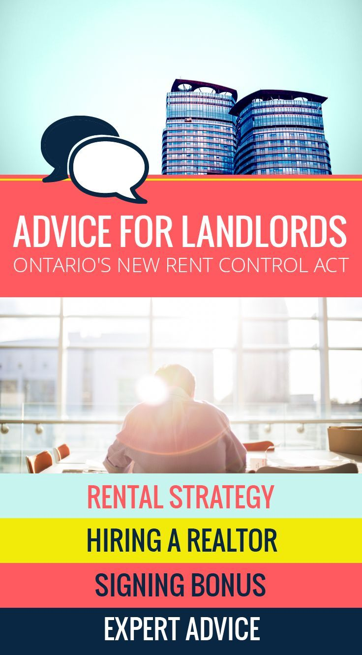 how to be a landlord in ontario