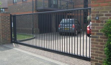 Best 25 Electric Sliding Gates Ideas On Pinterest