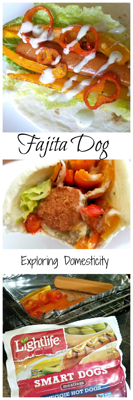 Fajita Dog with Lightlife Smart Dogs