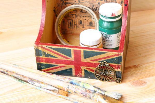 Мастер-класс от «Base of Art»: коробка для специй «London» - Ярмарка Мастеров - ручная работа, handmade