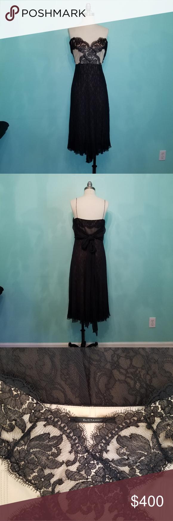 Nwt Elie Tahari Cocktail Dress Dresses Elie Tahari Dresses Elie Tahari [ 1740 x 580 Pixel ]
