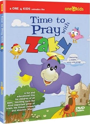 Time to Pray with Zaky (DVD) learning roots - one4kids - zaky DVDs - eid & ramadan products & Gifts http://www.muslimzon.com