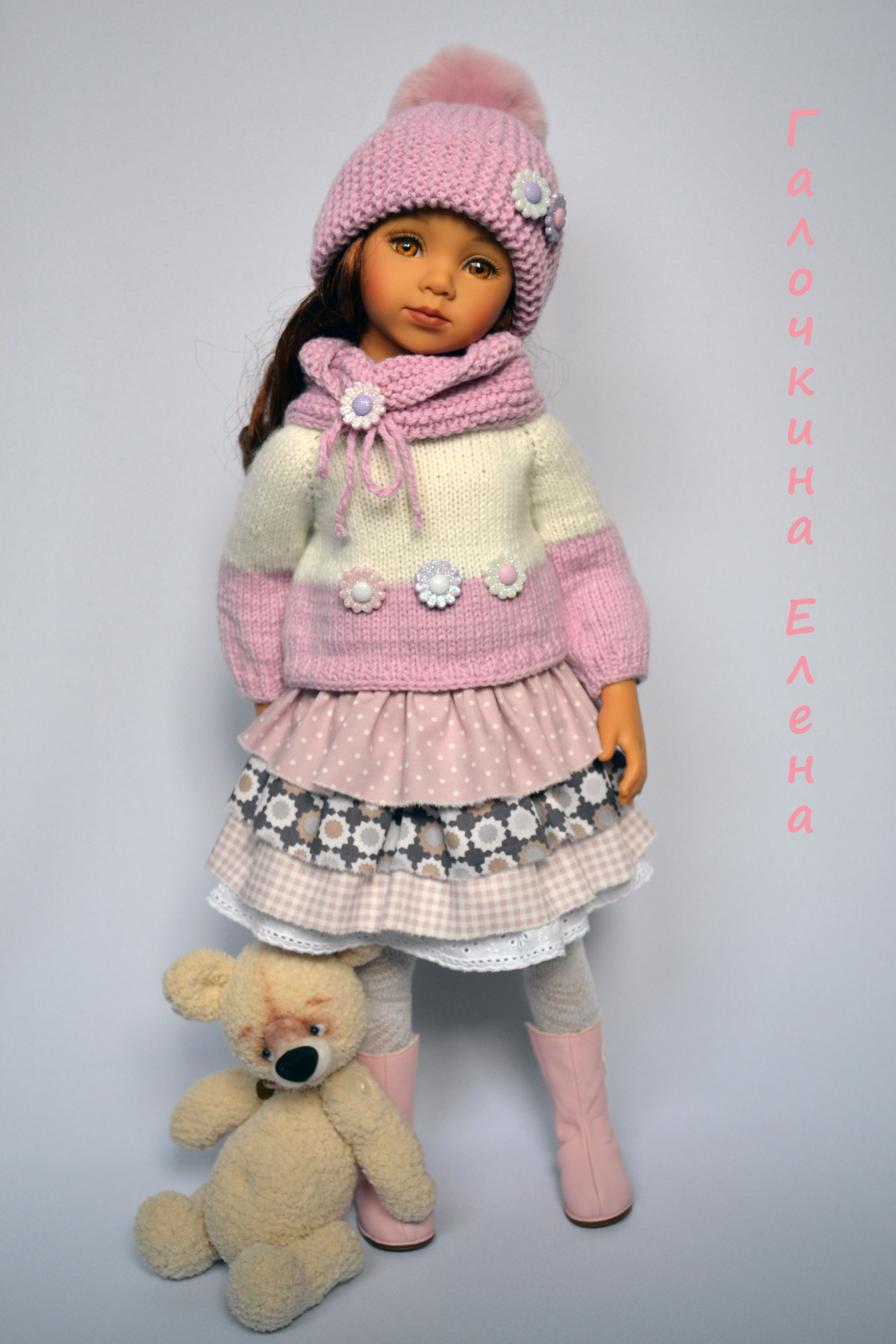 Pin de Carmen M. Cerda en Lindas muñecas | Pinterest | Muñecas ...