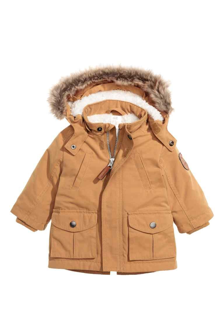 Boy JacketsToddler A HoodBaby Parka With Coats uTZPXOilwk