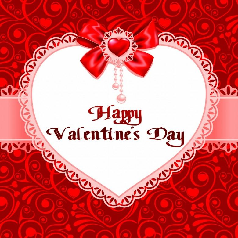 Valentines Day beautiful background ornaments heart 780x780 Worlds – Beautiful Valentine Cards